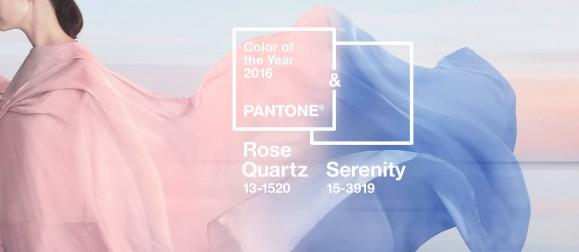 Color Pantone 2016: Rosa cuarzo y serenidad