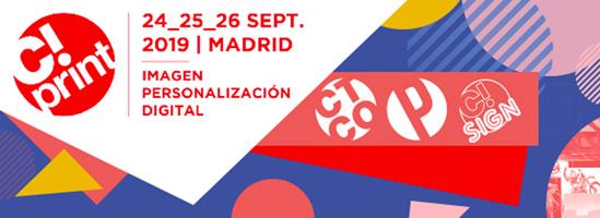 C!PRINT 2019: LA NUEVA EDICIÓN DE LA FERIA DE COMUNICACIÓN VISUAL Y ARTES GRÁFICAS EN MADRID FUE TODO UN ÉXITO