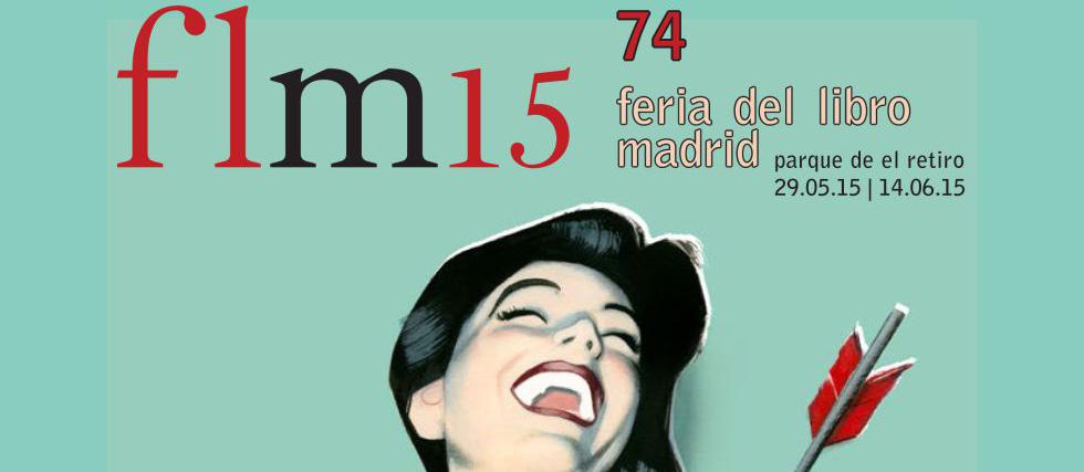 Los carteles de la feria del libro de Madrid