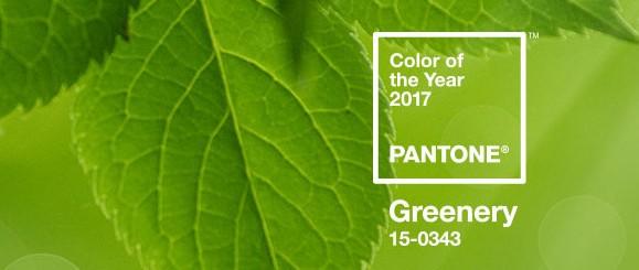 Y el color Pantone 2017 es… Greenery