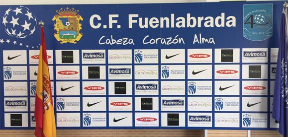 Nuestros trabajos de impresión en rígidos: Granada C.F y C.F Fuenlabrada