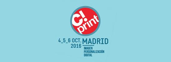 Llega C-Print, la gran feria de comunicación visual y artes gráficas en Madrid