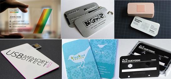 Cómo diferenciarte con tus tarjetas de visita