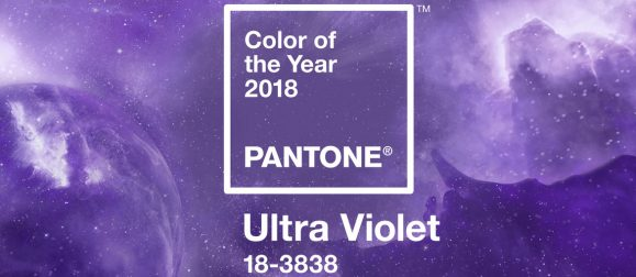 Ultra Violet: color Pantone 2018